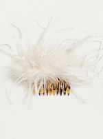 Josie Feather Hair Comb