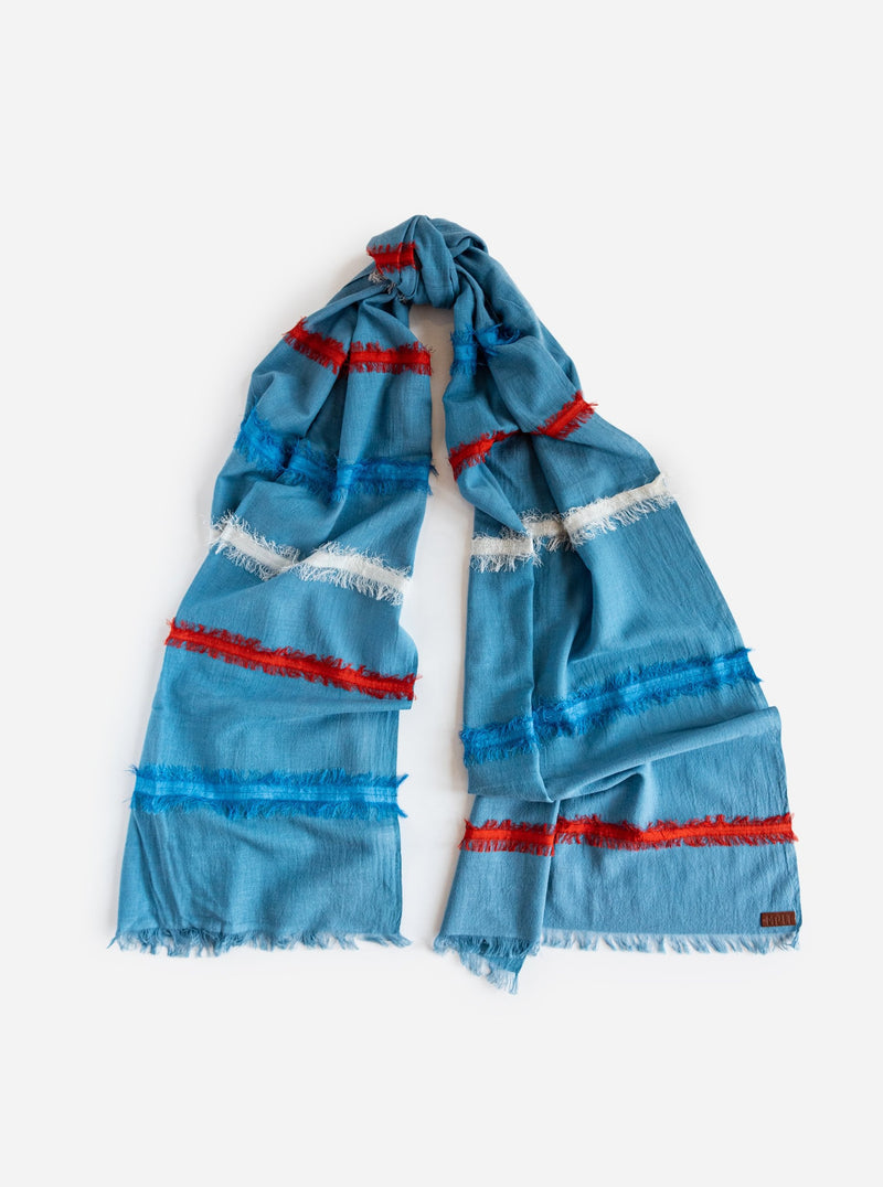 Tilton Scarf in Blue