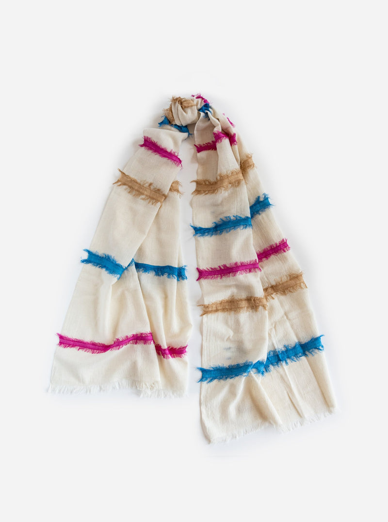 Tilton Scarf in White
