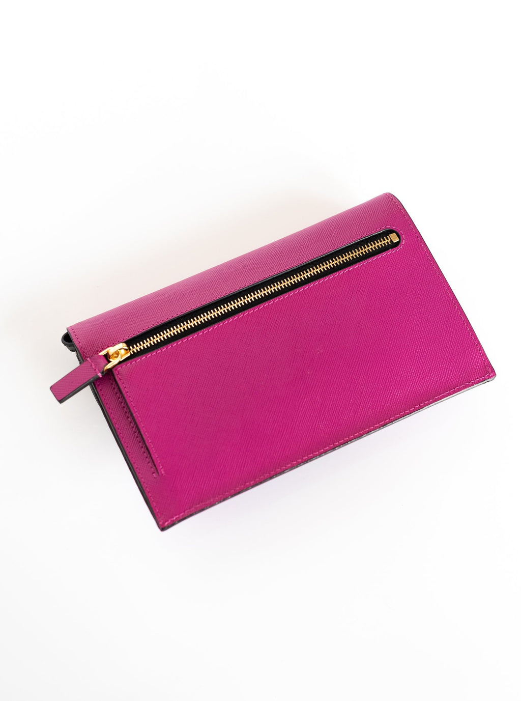 Layered Wallet in Cassis