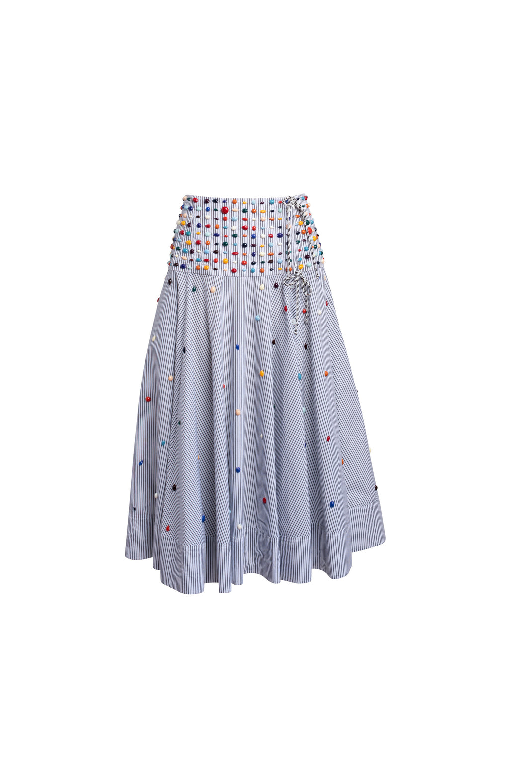 Beaded Full Circle Skirt