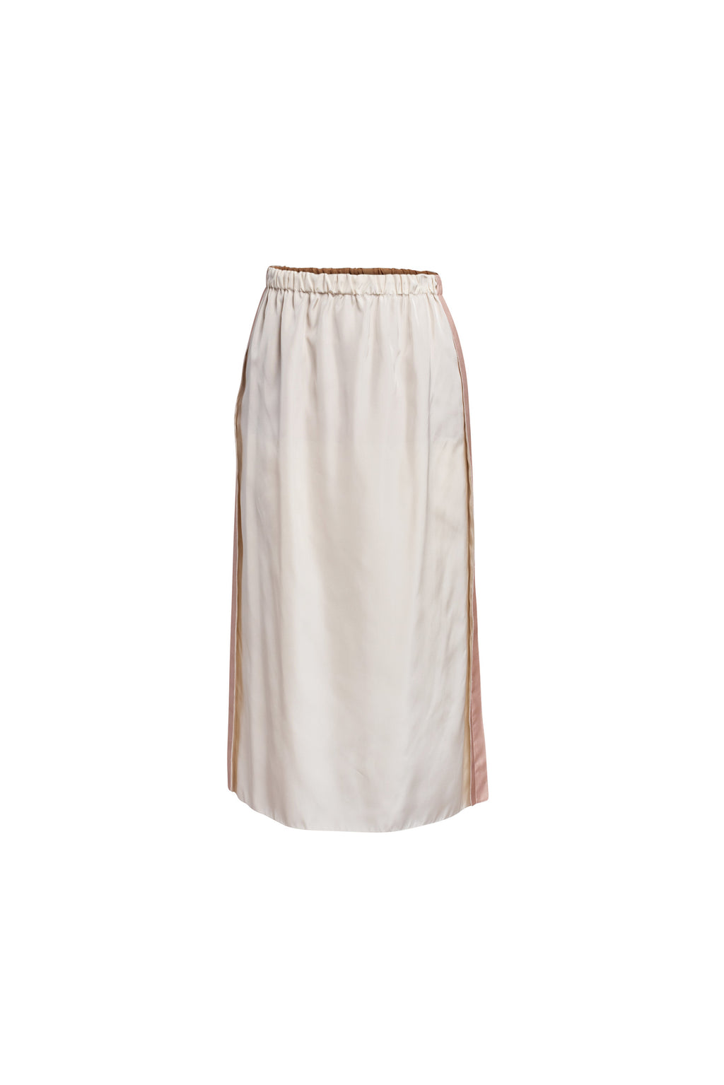 Cream Silk Skirt