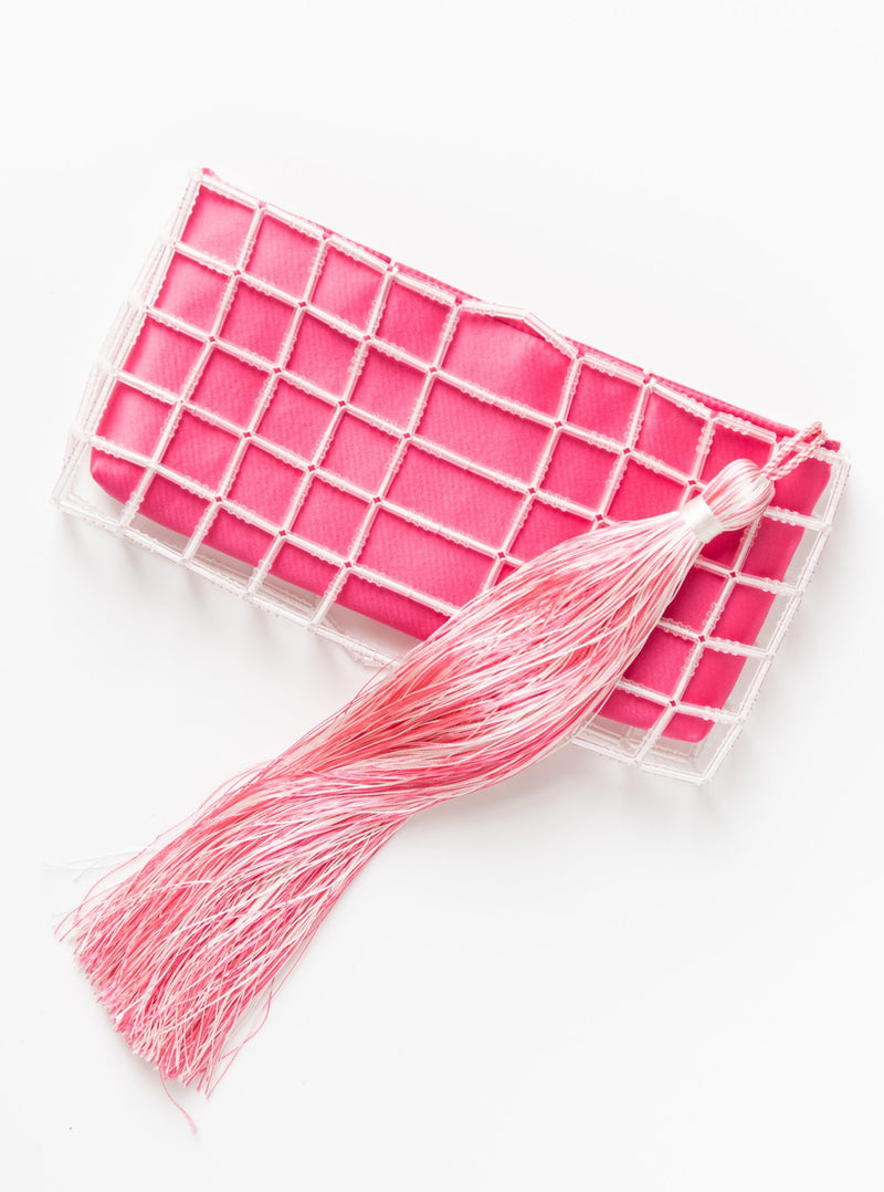 Stella Clutch in Pink