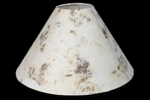 Cream Amate Bark Paper Lamp Shade – DFM - RMAW
