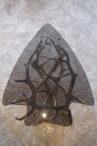 Arrowhead Antler Table - RMAW