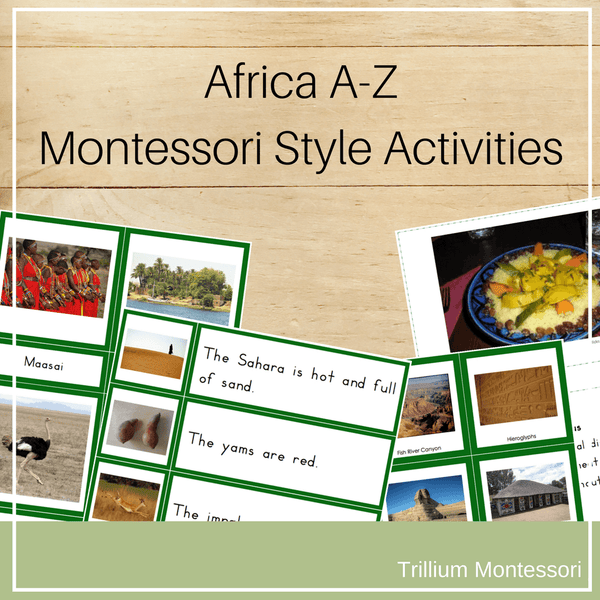 Bundle 1: Continents A-Z
