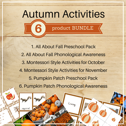 Bundle 6: Autumn Activities