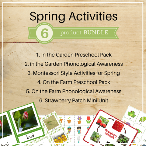 Bundle 5: Spring Activities