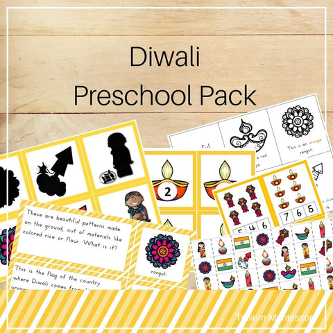 Diwali Preschool Pack