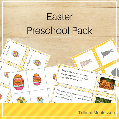 Easter Preschool Pack