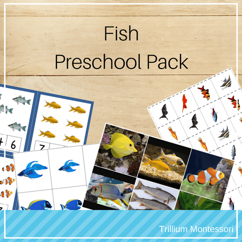 Fish Preschool Pack - Trillium Montessori