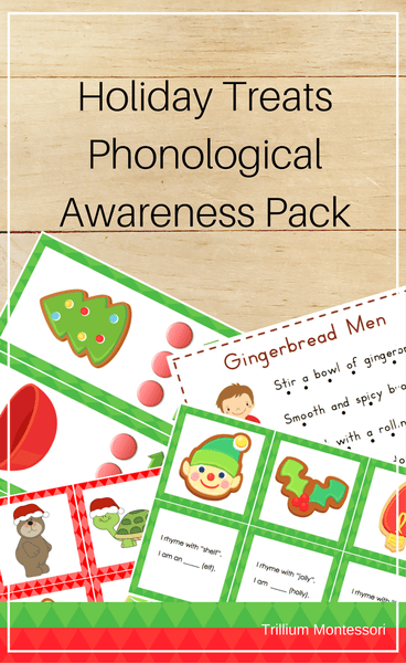 Holiday Treats Phonological Awareness Pack