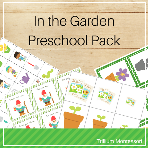 In the Garden: Preschool Pack for Spring