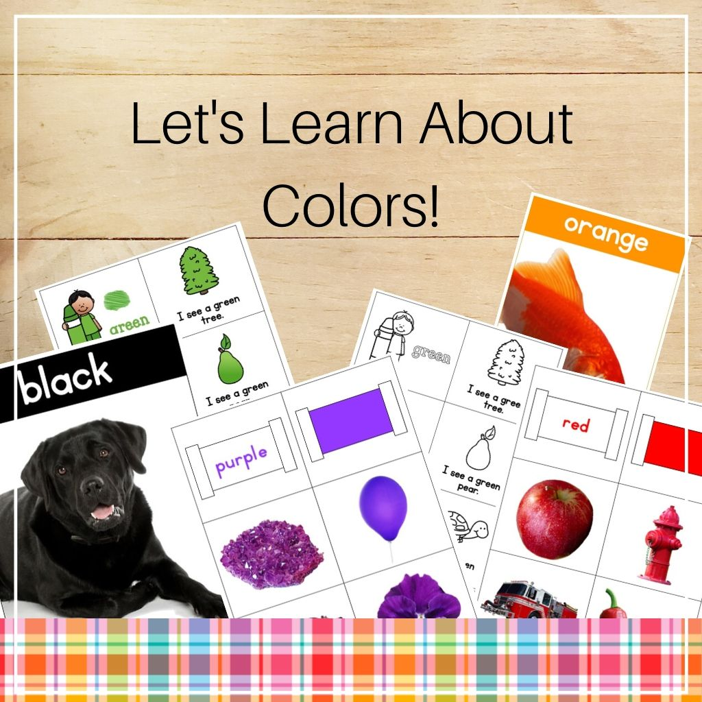 Let's Learn About Colors