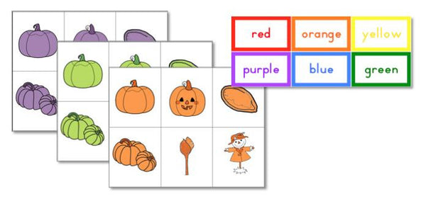 Pumpkin Patch Preschool Pack - Trillium Montessori