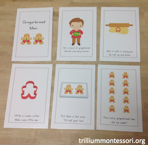 Holiday Treats Phonological Awareness Pack - Trillium Montessori