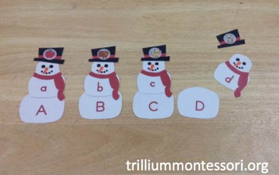 January Phonics and Literacy Pack - Trillium Montessori