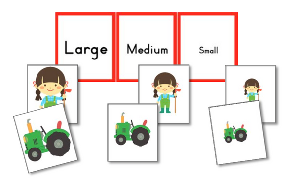 On the Farm Preschool Pack - Trillium Montessori