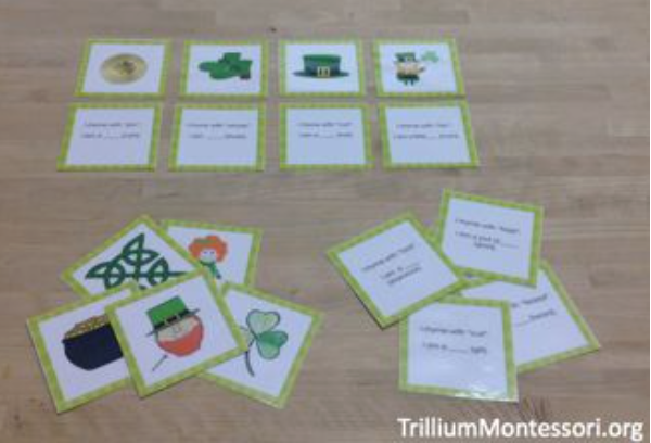 St. Patrick's Day Phonological Awareness - Trillium Montessori