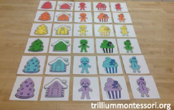 Montessori Style Preschool Activities for December SPANISH