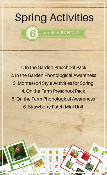Bundle 5: Spring Activities - Trillium Montessori