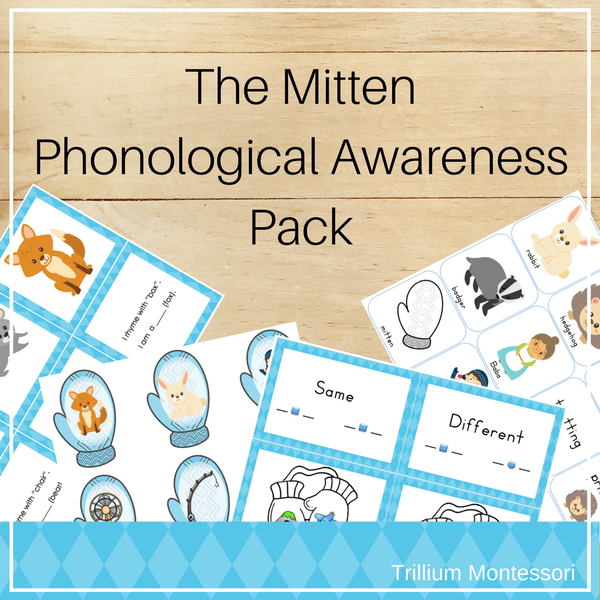 The Mitten- Phonological Awareness Activities - Trillium Montessori