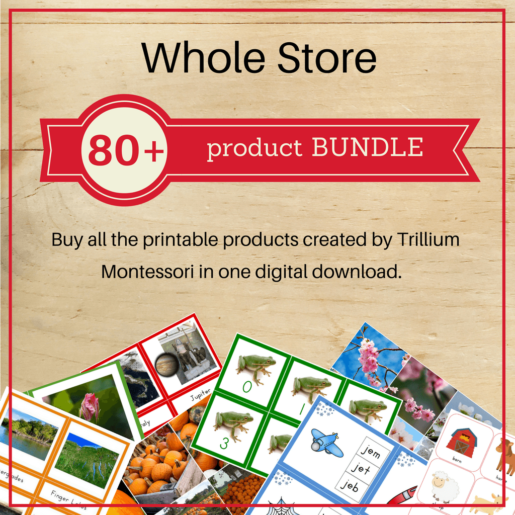 Bundle: Whole Store - Trillium Montessori