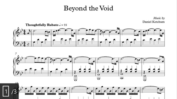Beyond The Void Sheet Music (download)
