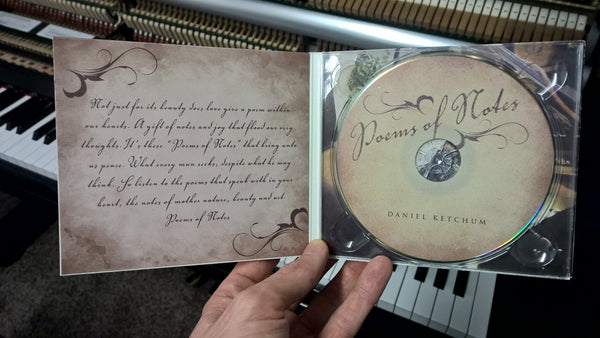 "Signed album ""Poems Of Notes"""
