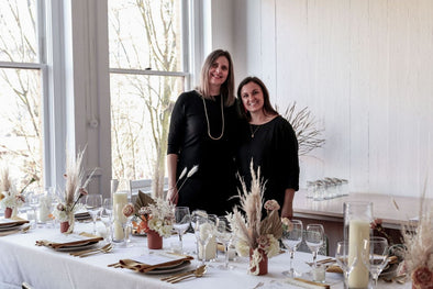 Toni Desrosiers, Abeego, and Samantha Johnson, Anchored Wellness, host Sunday Suppers, Victoria BC Edition