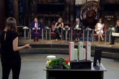 Abeego Toni Desrosiers on Dragons Den Season 11 Episode 17