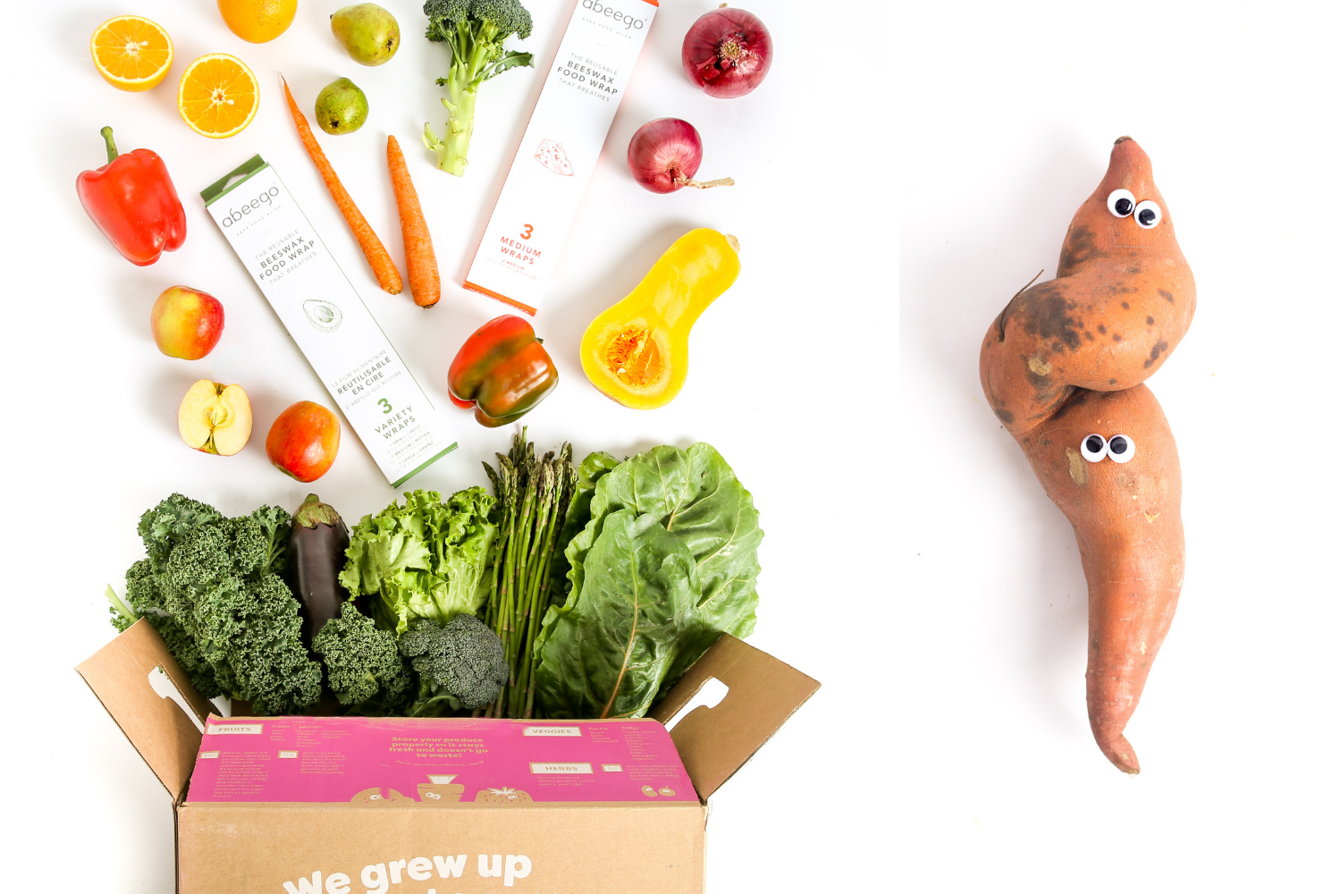 Abeego and Imperfect Produce | End Food Waste