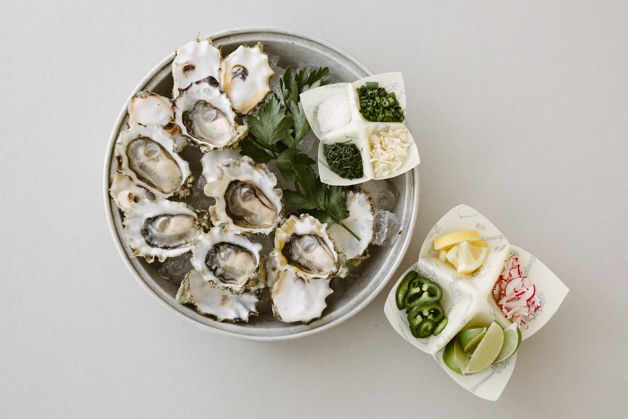 Oyster combinations and seafood sustainability with Abeego