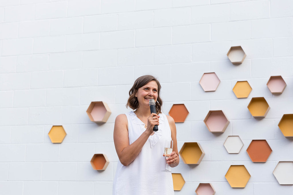 Founder and canadian inventor of the beeswax wrap Toni Desrosiers