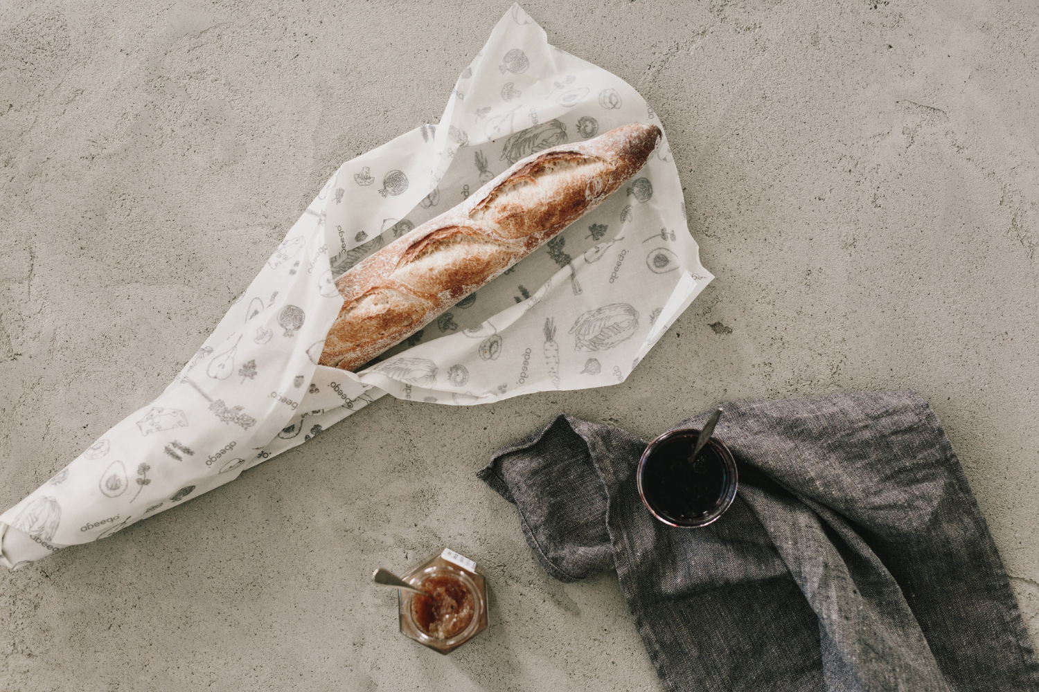 Wrap Your Fresh Bread in a Giant Abeego Beeswax Wrap