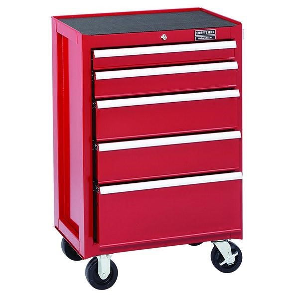 Craftsman® Industrial™ 3000 Series 5 Drawer Rolling Cabinet