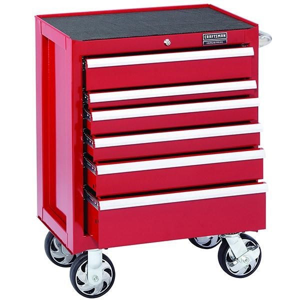 Craftsman® Industrial™ 5000 Series 6 Drawer Rolling Cart