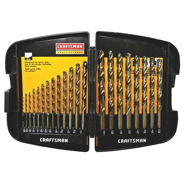 Craftsman® Professional 21-Piece Drill Bit Set