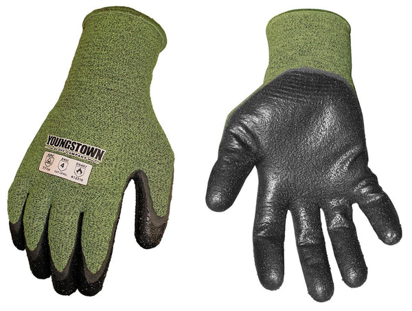 FR 4000 FR/ Arc Rated (4.9 cal/cm2) Palm Coated Glove, Cut Level 4