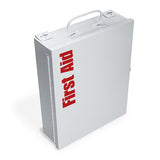 135-Pc Medium Food Industry First Aid Kit (Metal)