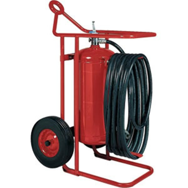 Badger™ 125 lb ABC Wheeled Stored Pressure Fire Extinguisher