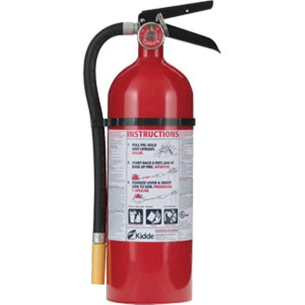 Kidde Pro 340 Consumer 5 lb ABC Fire Extinguisher w/ Wall Hook