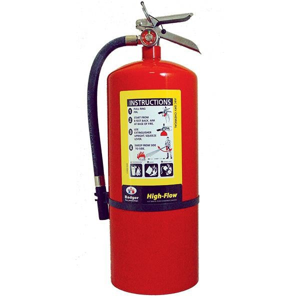 Badger™ Extra-High Flow 20 lb ABC Extinguisher w/ Wall Hook