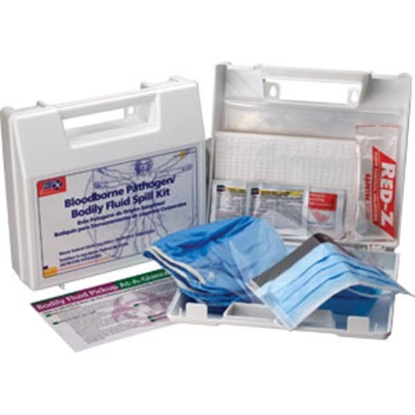 24-Piece Bloodborne Pathogen/Body Fluid Spill Kit