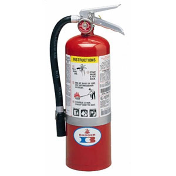 Badger™ Standard 5 lb ABC Fire Extinguisher w/ Vehicle Bracket