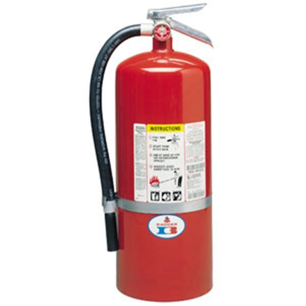 Badger™ Standard 20 lb ABC Fire Extinguisher w/ Wall Hook