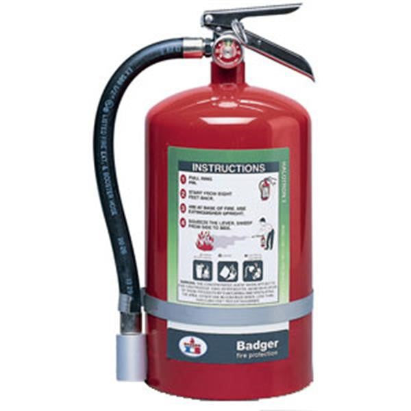 Badger™ Extra 15.5 lb Halotron® I Extinguisher w/ Wall Hook