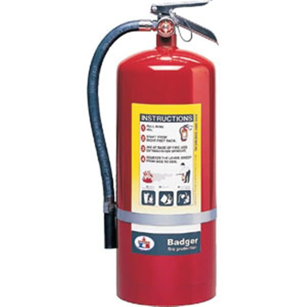Badger™ Extra 20 lb ABC Fire Extinguisher w/ Wall Hook