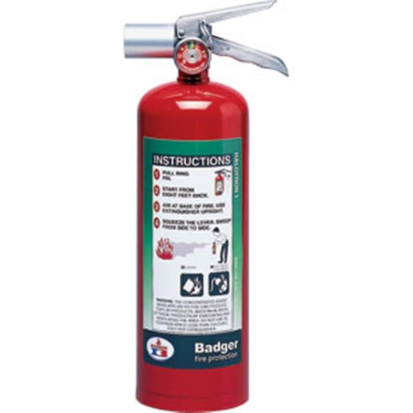 Badger™ Extra 5 lb Halotron® I Fire Extinguisher w/ Wall Hook
