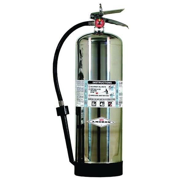 Amerex® 2.5 gal AFFF Foam Extinguisher w/ Brass Valve & Wall Hook